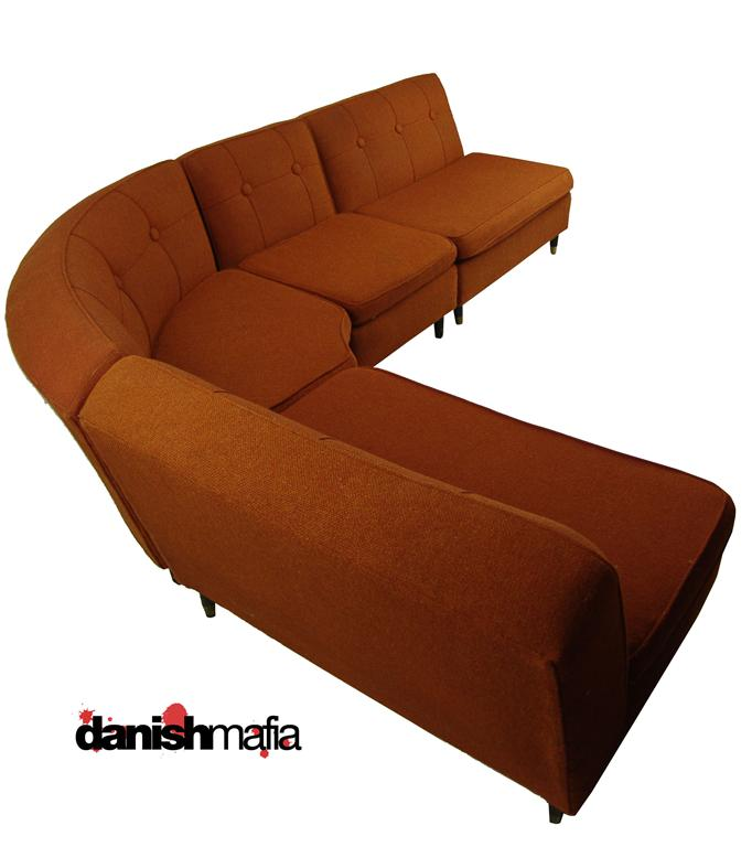 Superieur MID CENTURY MODERN Retro Sectional Sofa Couch Eames Era