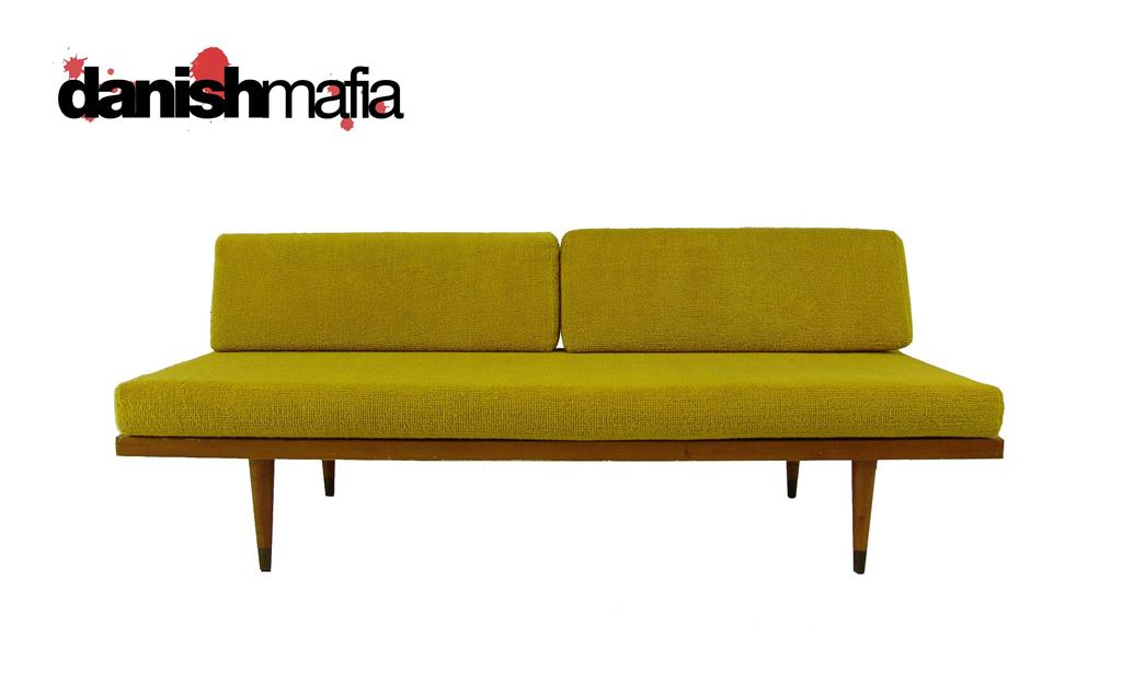 Vintage MID CENTURY MODERN Sofa Couch Daybed Day Bed NR ...