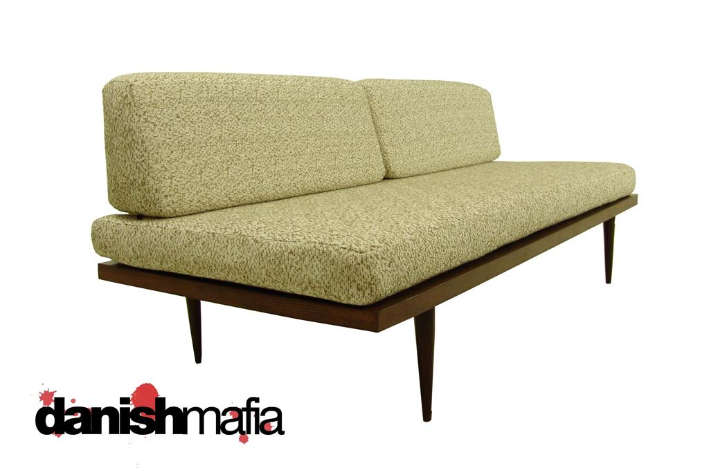 MID CENTURY MODERN Sofa Couch Day Bed Lounge Eames Era