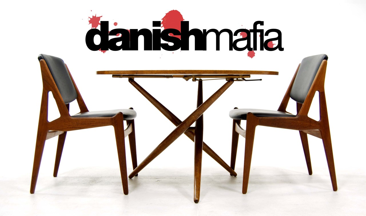 Mid century danish modern pair side dining chair vodder for Mid century danish modern chair
