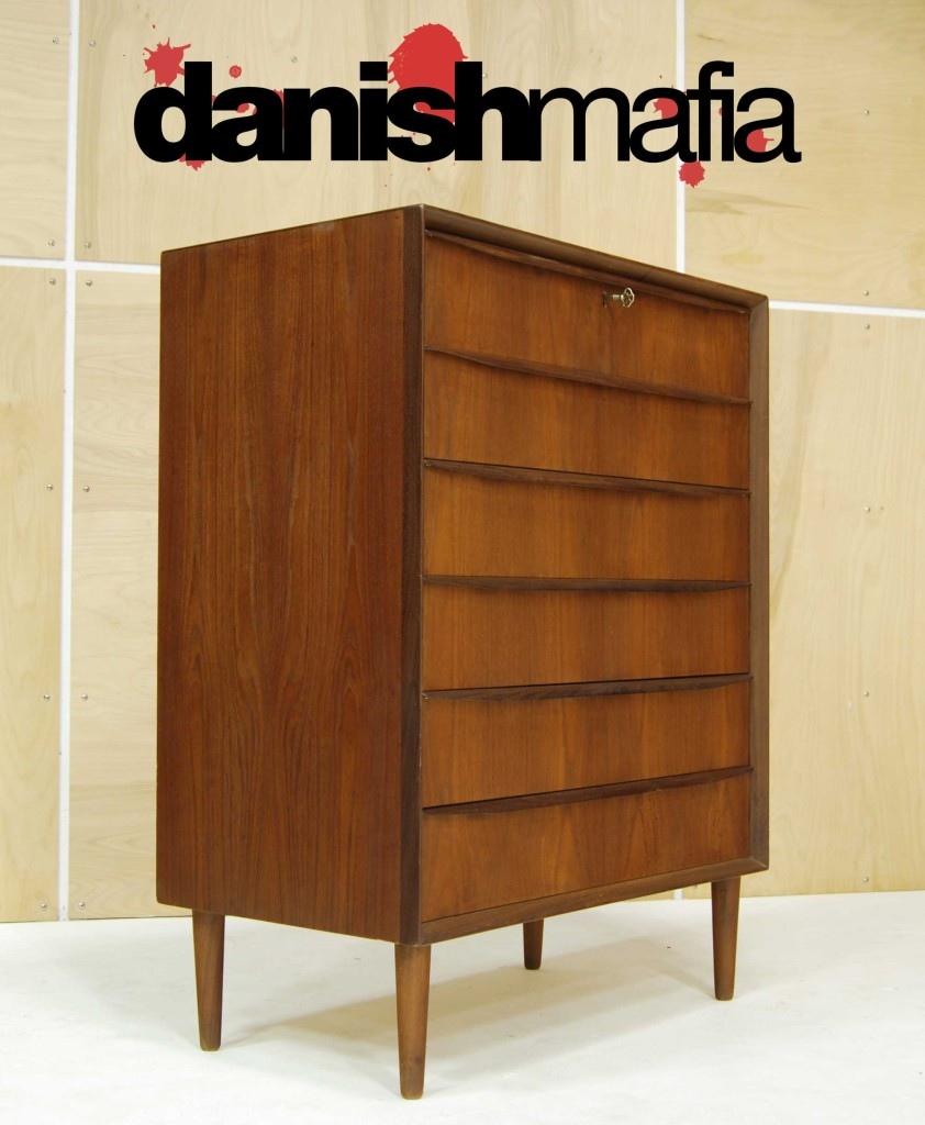 Mid Century Danish Modern Teak Bedroom Dresser Chest Danish Mafia