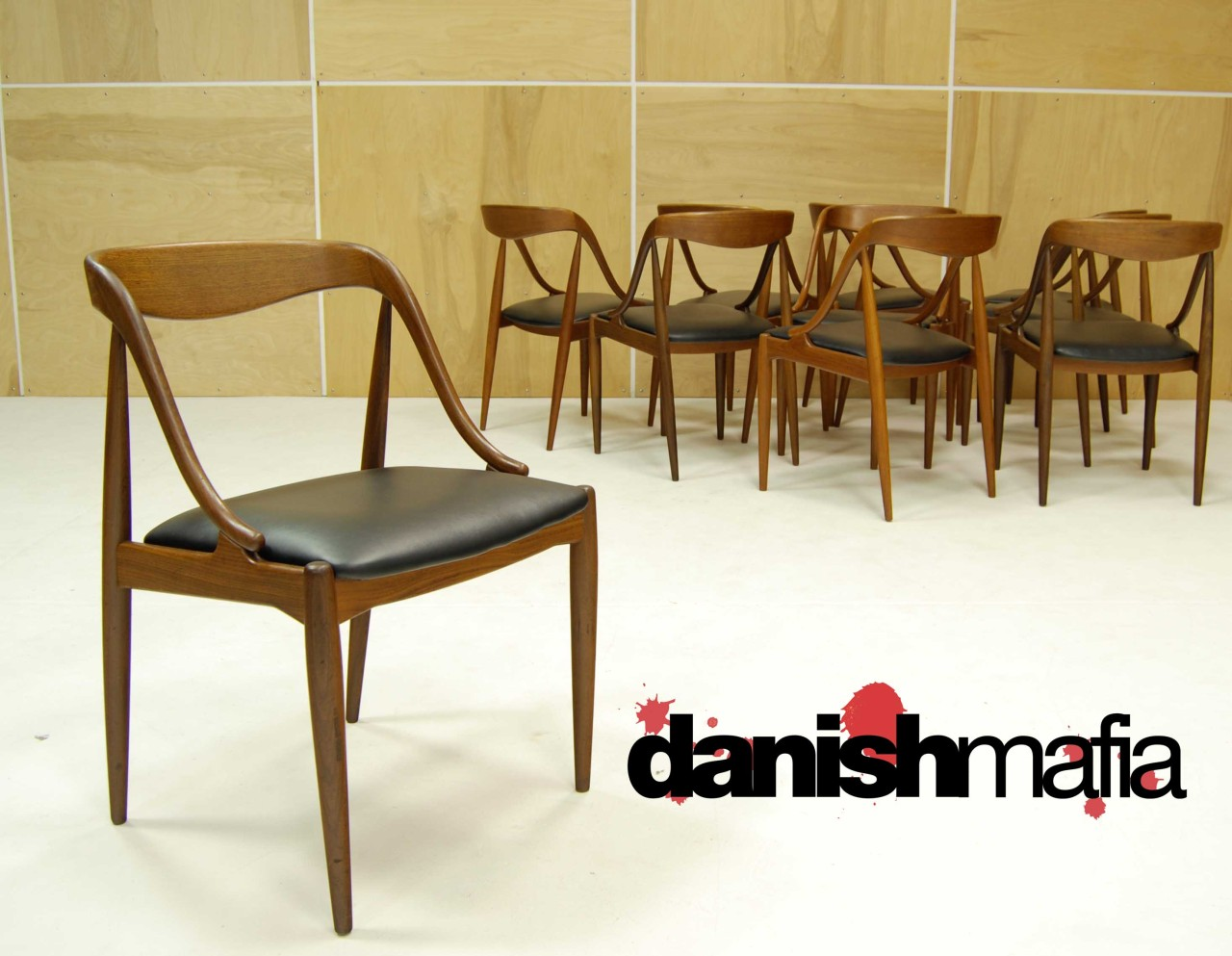 Mid Century Teak Dining Chairs