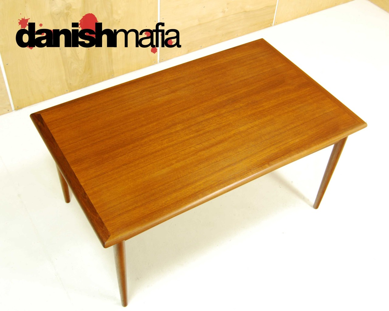 dining table mid century teak dining table