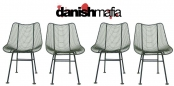 Mid Century Modern WOODARD Sculptura Side Chairs EAMES
