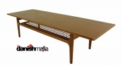 Vintage MID CENTURY DANISH MODERN TEAK Coffee Table