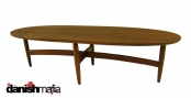 RETRO MID CENTURY MODERN Walnut Coffee Table Eames Era