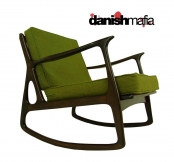 MID CENTURY MODERN ITALIAN ROCKING ROCKER CHAIR LOUNGE