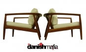 PAIR of MID CENTURY DANISH MODERN DUX SIDE CHAIRS