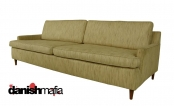 intage RETRO MID CENTURY MODERN Knoll Style Sofa Couch