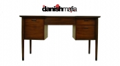 RETRO MID CENTURY Danish MODERN Walnut Desk Eames Era