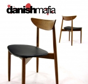 MID CENTURY DANISH MODERN PAIR SIDE DINING CHAIR EAMES