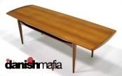 MID CENTURY DANISH MODERN TEAK SOFA COFFEE TABLE EAMES