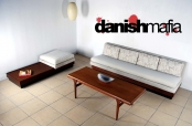MID CENTURY DANISH MODERN PEARSALL SOFA COUCH SECTIONAL