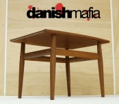 MID CENTURY DANISH MODERN GRETE JALK SIDE END OCCASIONAL TABLE