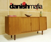 60′s MID CENTURY DANISH MODERN TEAK CREDENZA SIDEBOARD BUFFET DINING EAMES