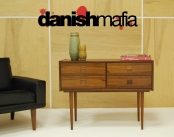 MID CENTURY DANISH MODERN ROSEWOOD ENTRY CHEST DRESSER CREDENZA SIDEBOARD EAMES