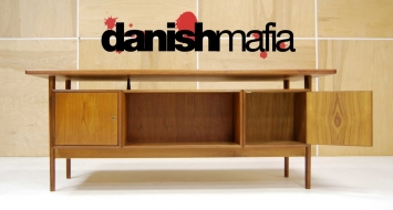 HUGE MID CENTURY DANISH MODERN TEAK KAI KRISTIANSEN OFFICE DESK 9