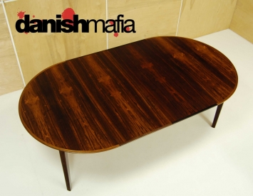 Mid Century Rosewood Dining Table 6