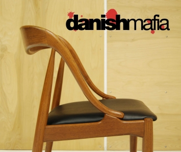 Mid Century Teak Dining Chairs 11