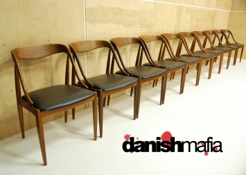 Mid Century Teak Dining Chairs 2